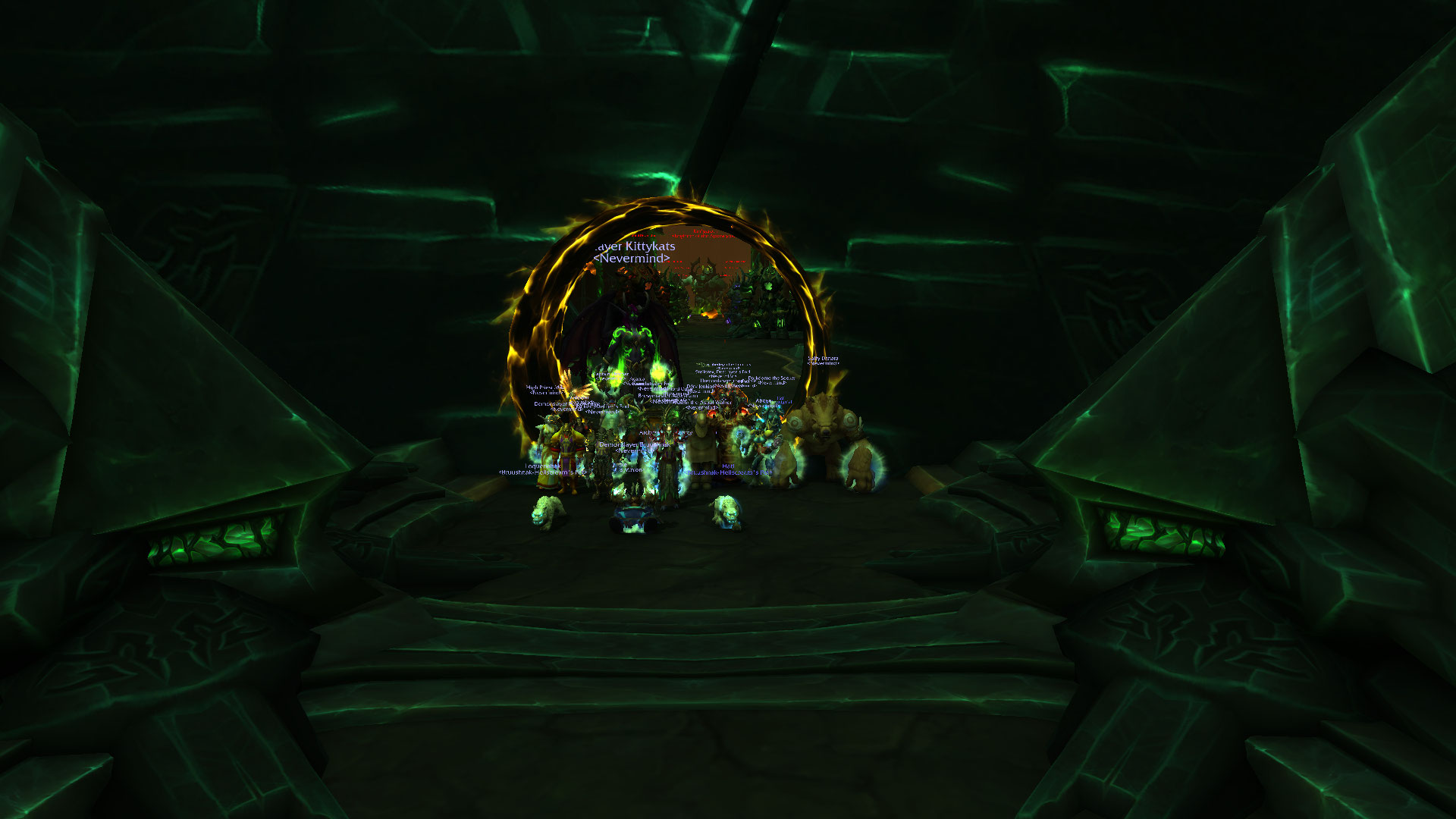 antorus day one 6 bosses down