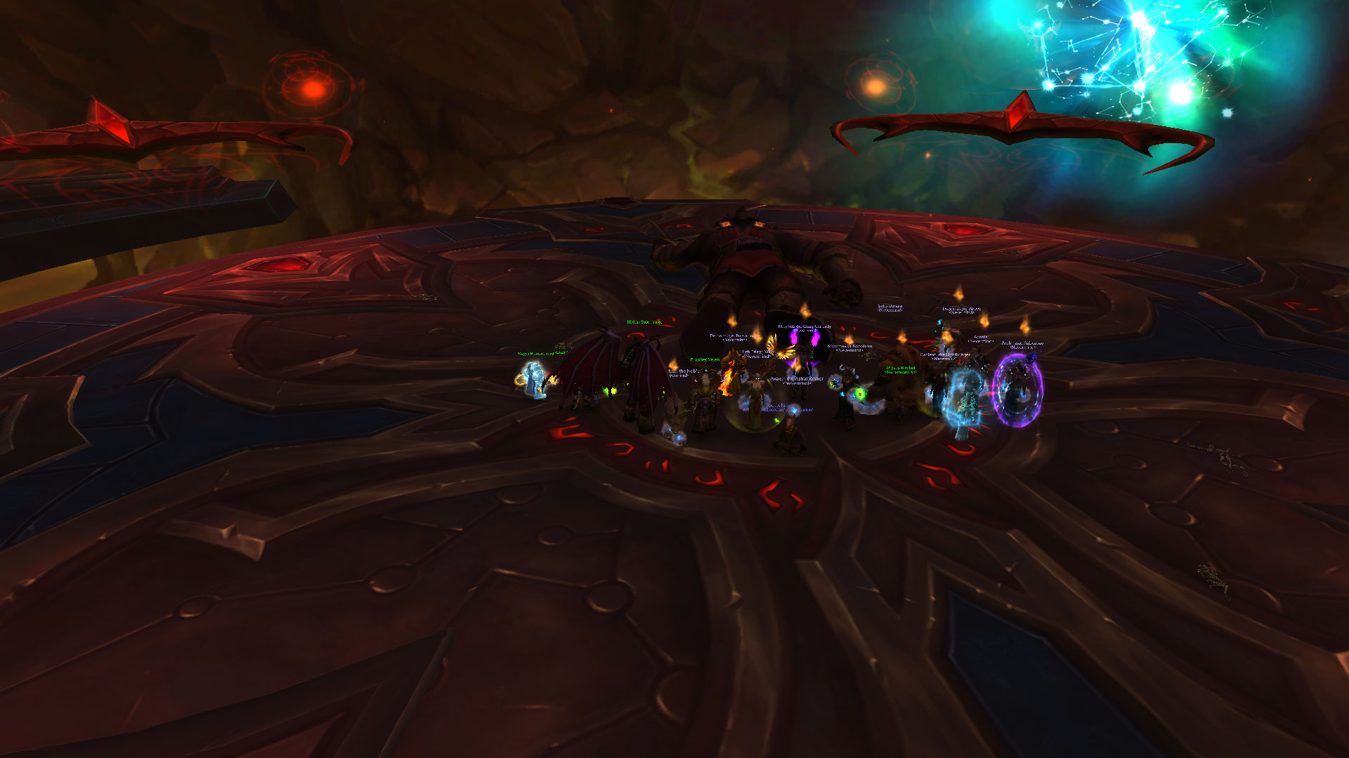 Heroic Coven and Aggramar down!