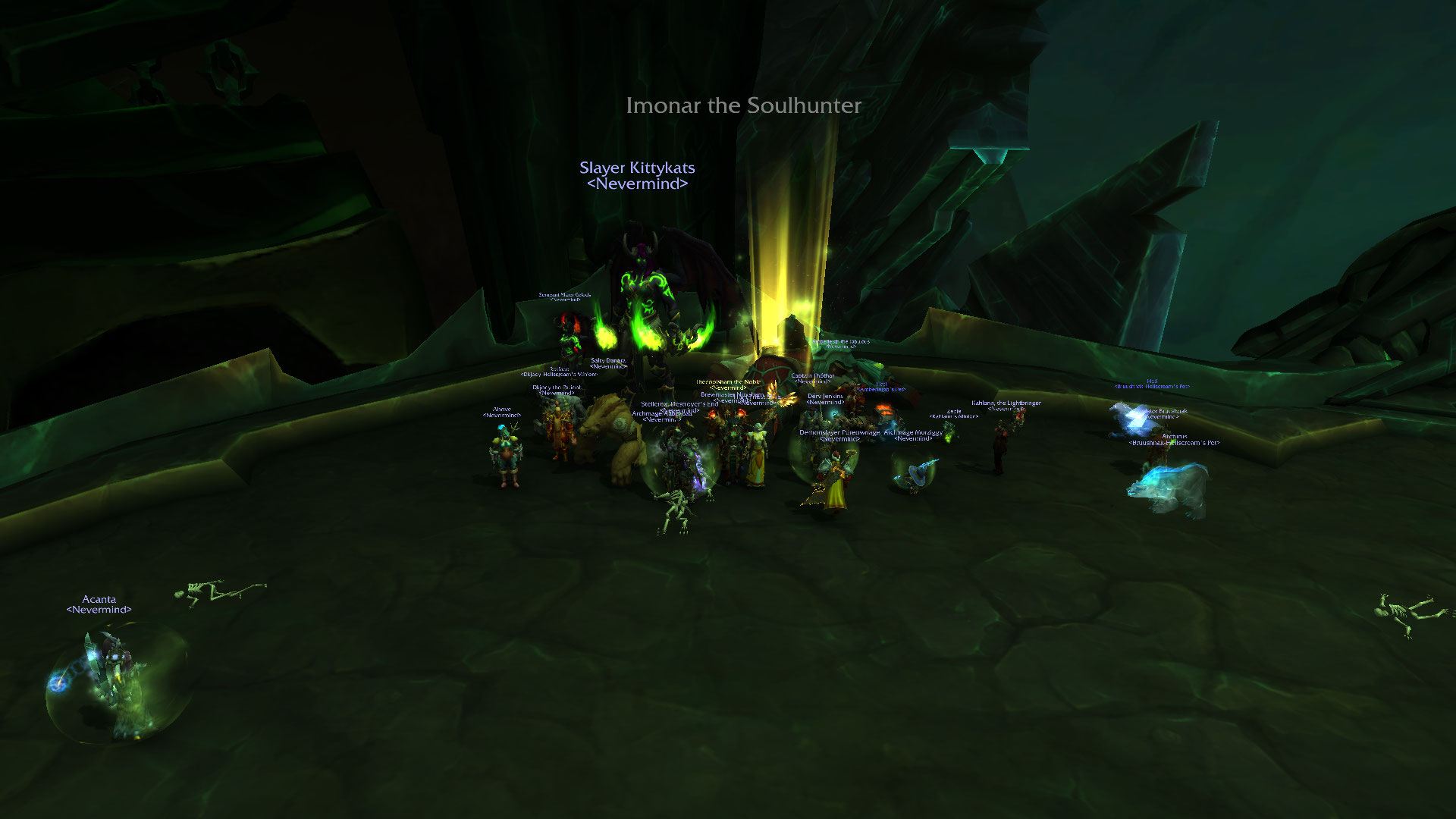Imonar Heroic down! and holiday time!
