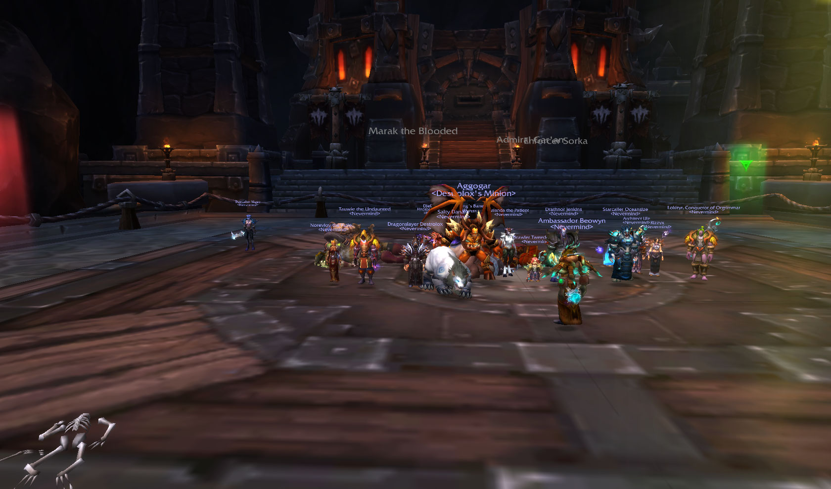 Team Fire Takes Out Heroic Iron Maidens