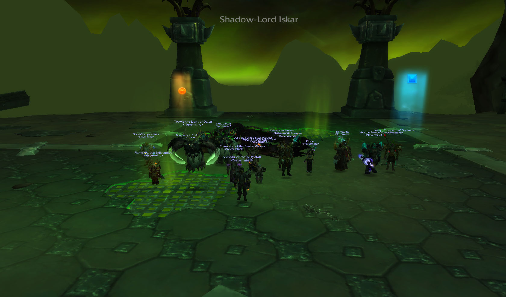 Team Fire are at it again...Shadow Lord Iskar HC...DEAD! 7/13