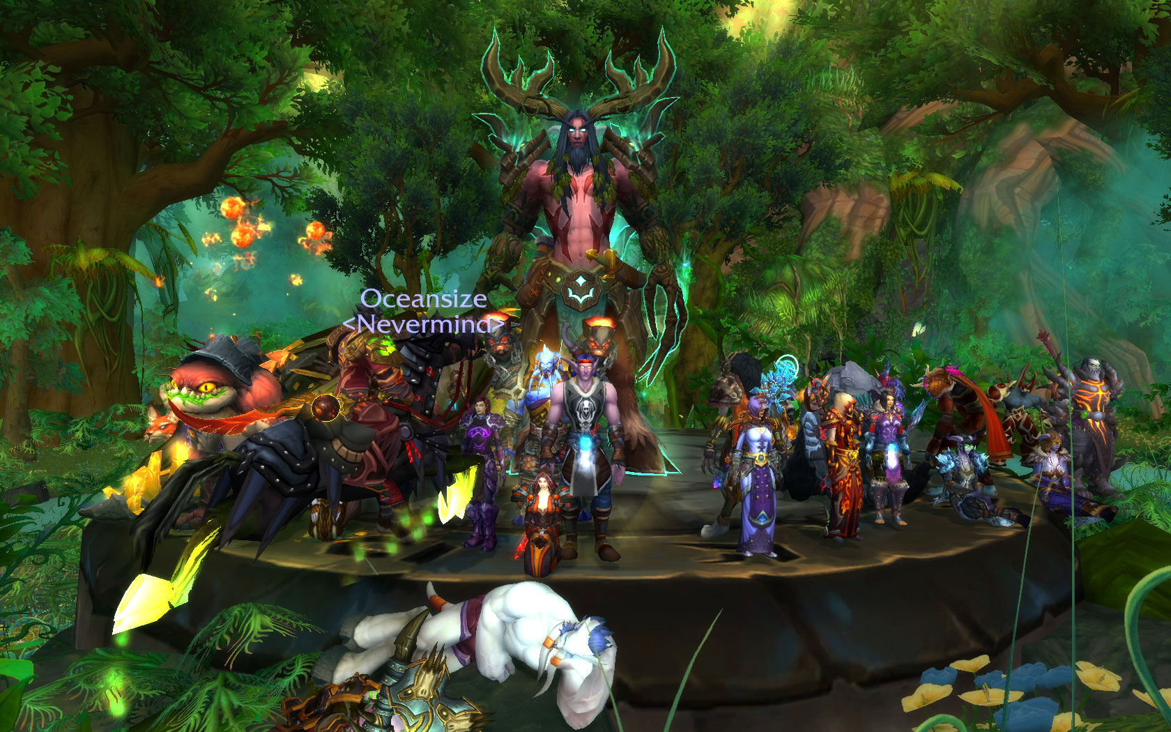 Team Fire killed Xavius on HC