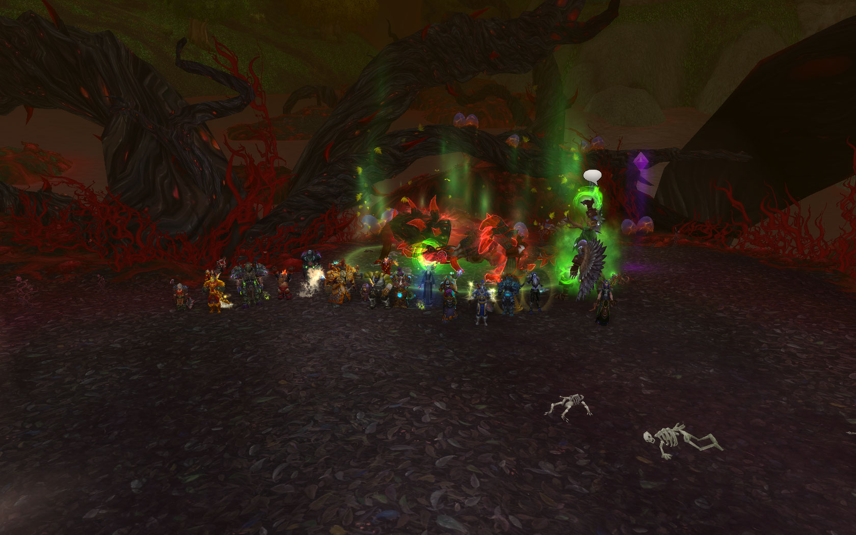 Moving fast this week Team Ice killed Cenarius HC