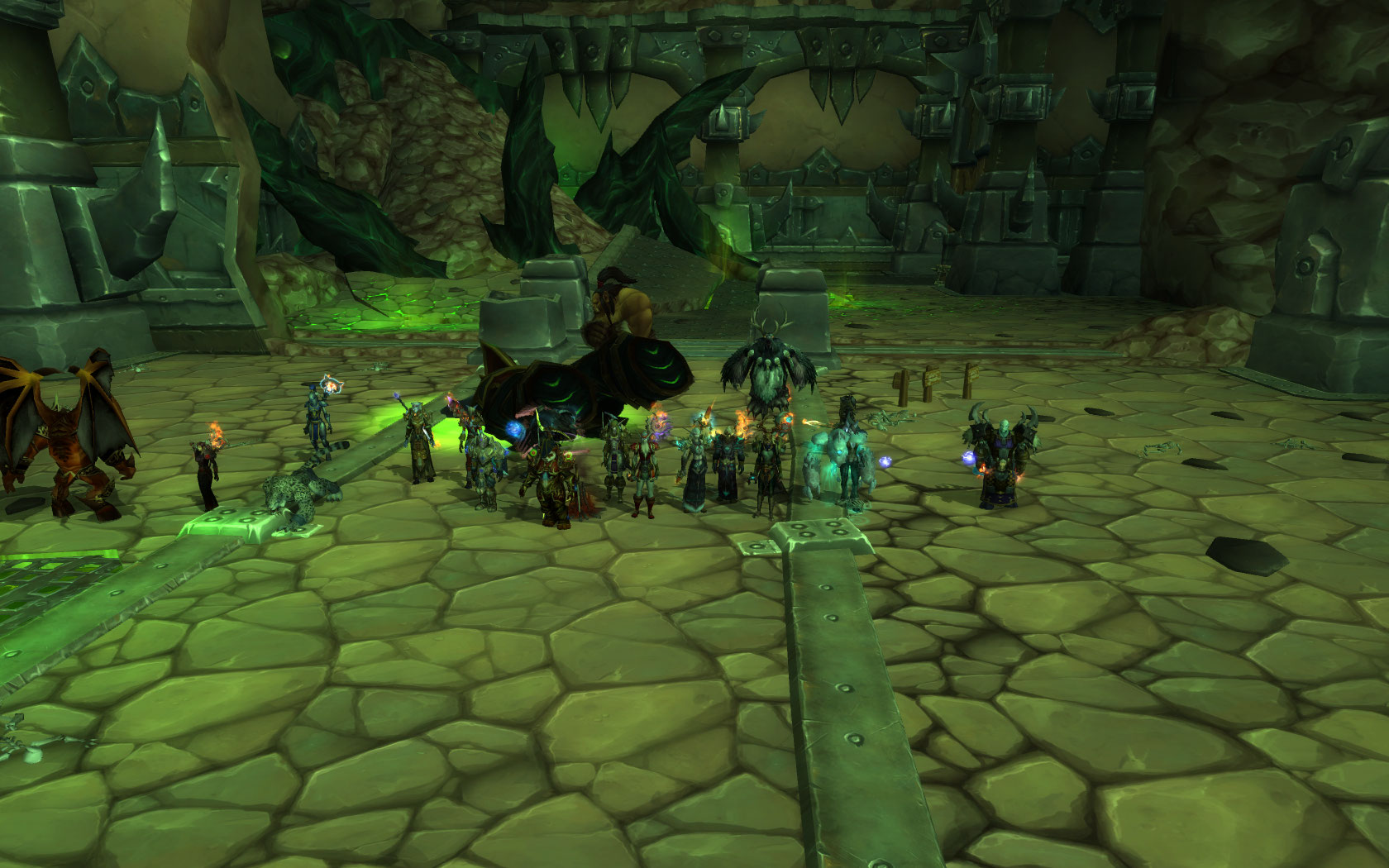 No place to run, no place to hide, Fel Lord Zakuun died!! we were IceCool
