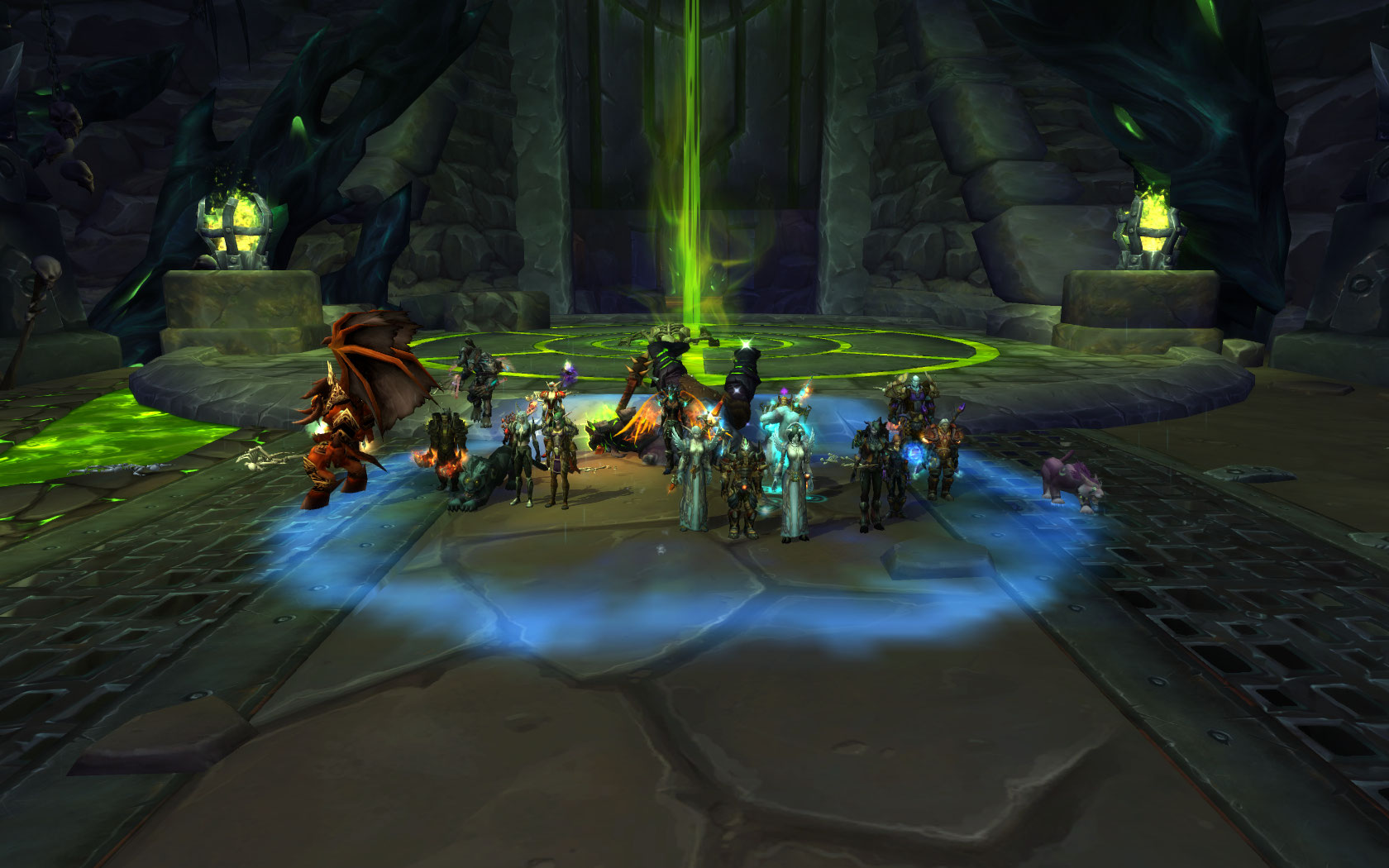 Team Ice goes heroic!