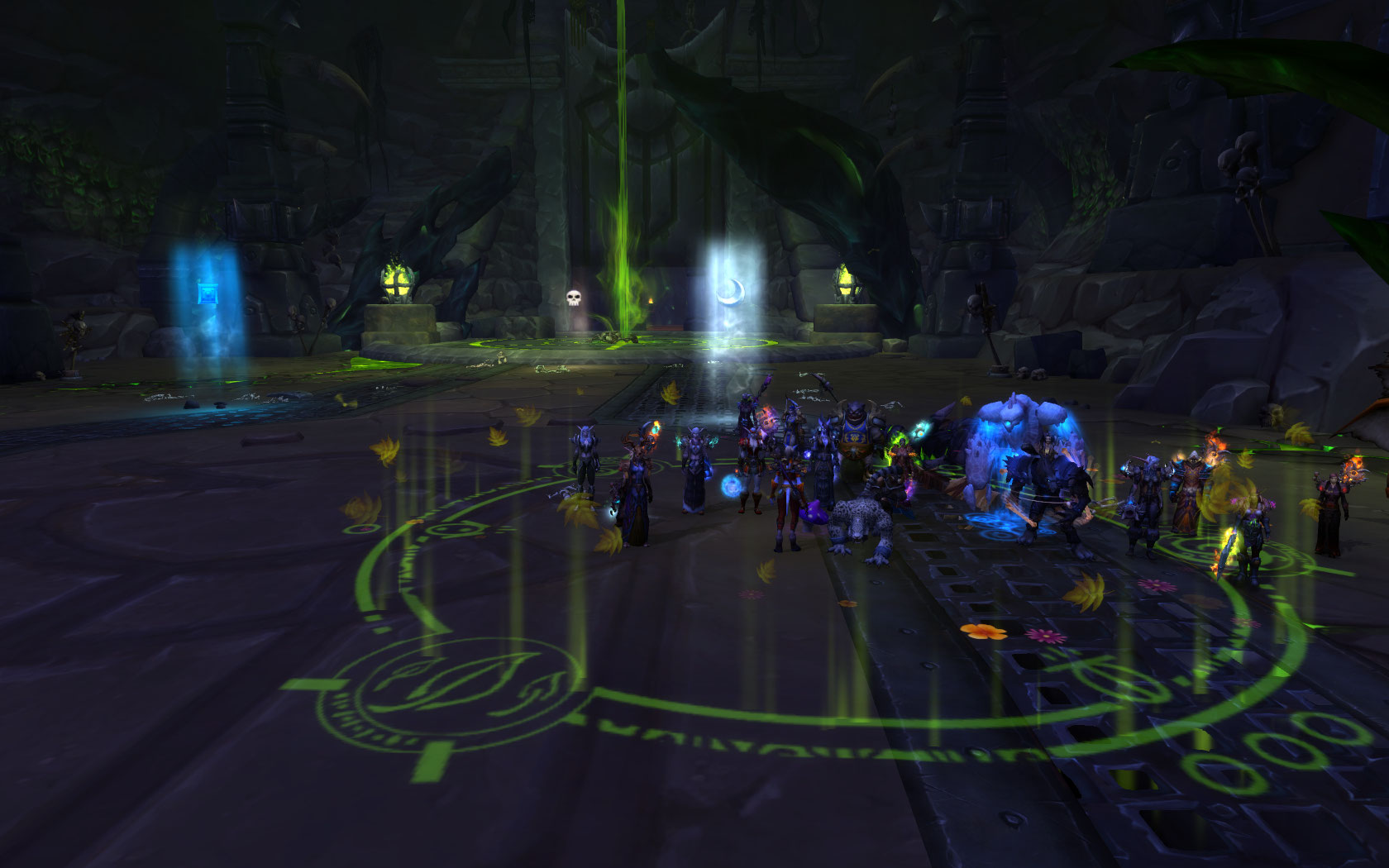 Kilrogg Deadeye finaly got the message and died with us, only Dakpannetje survived!