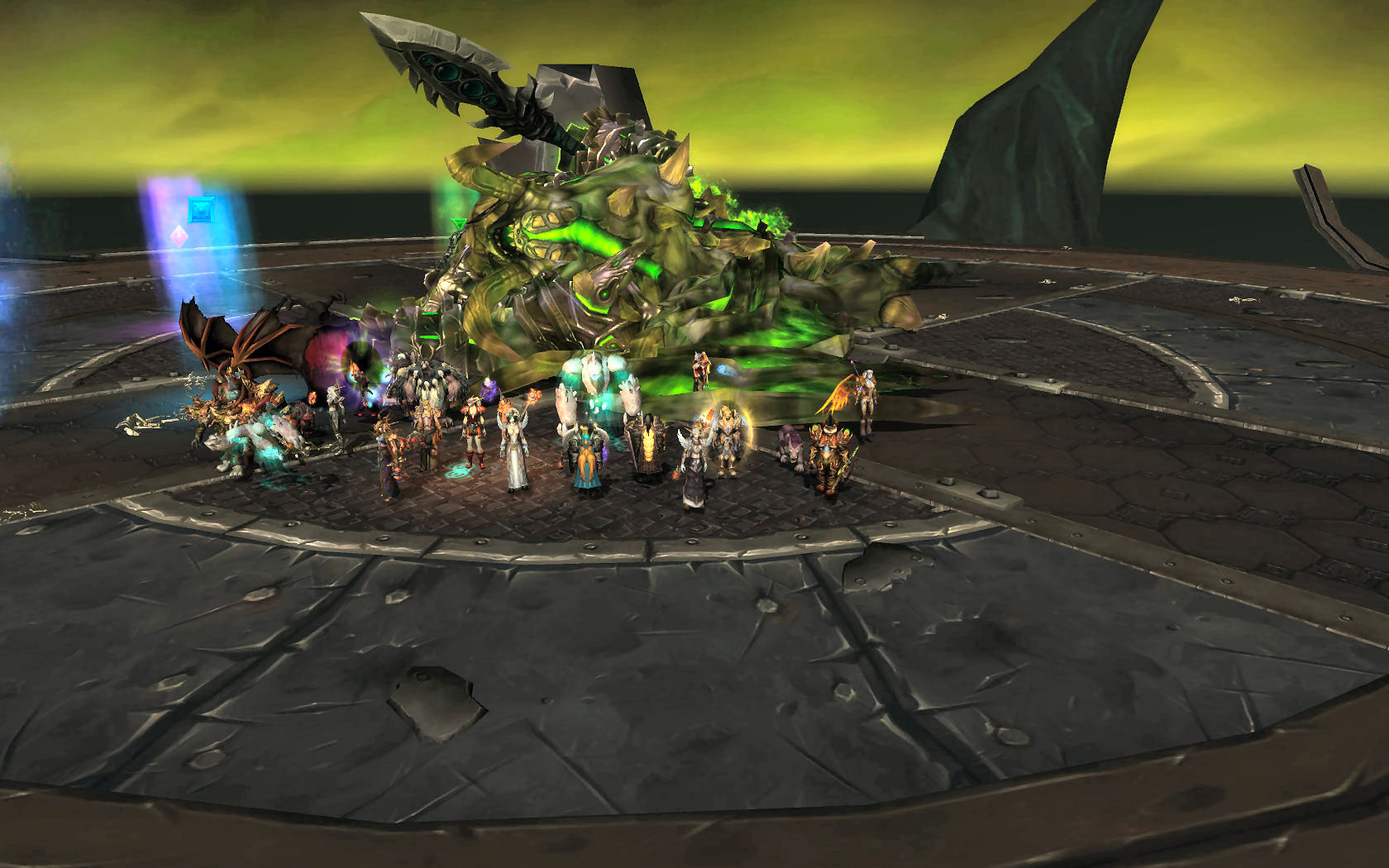Mannoroth frozen! 1 more to go