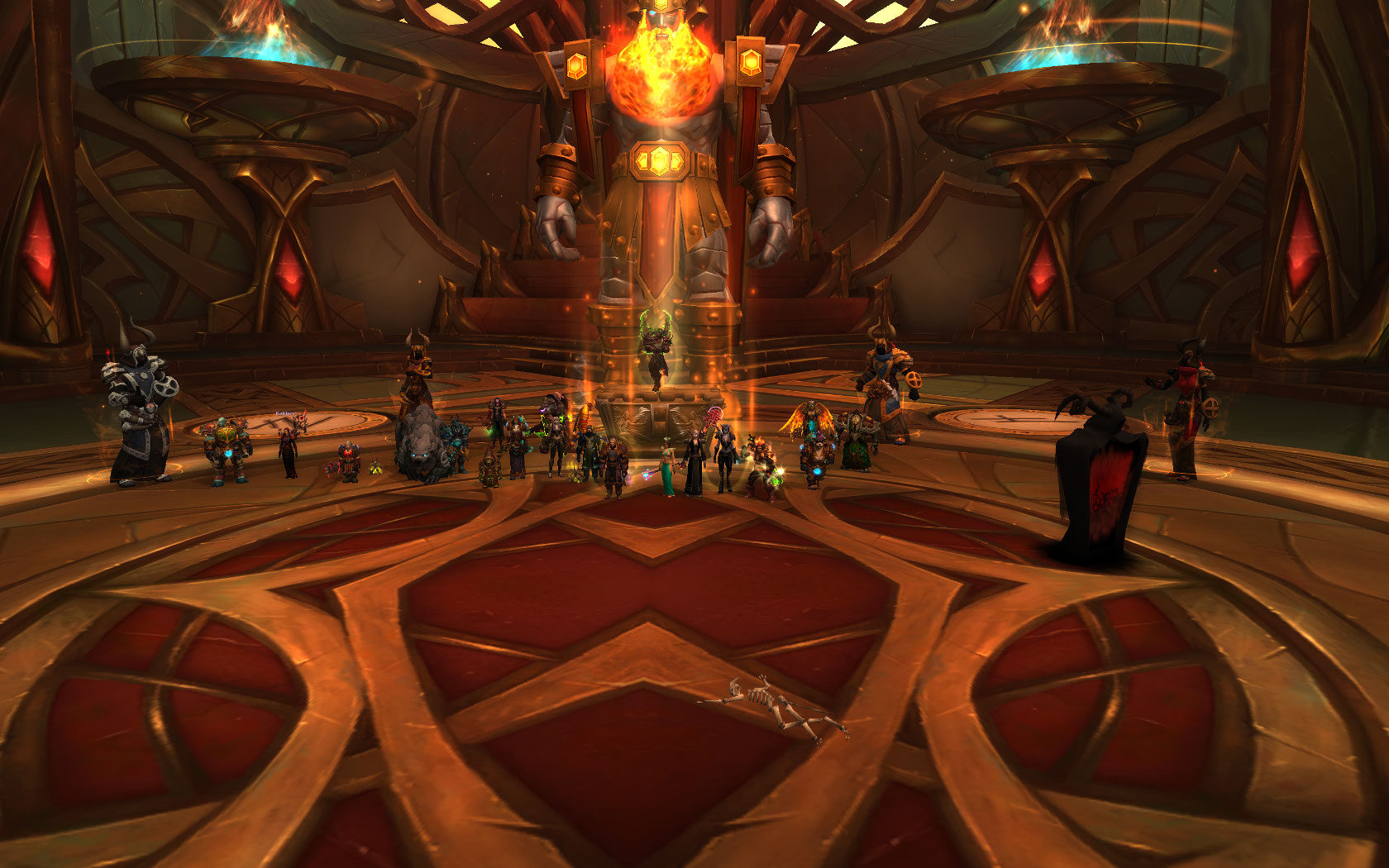 Team Ice had a party at Trial of Valor