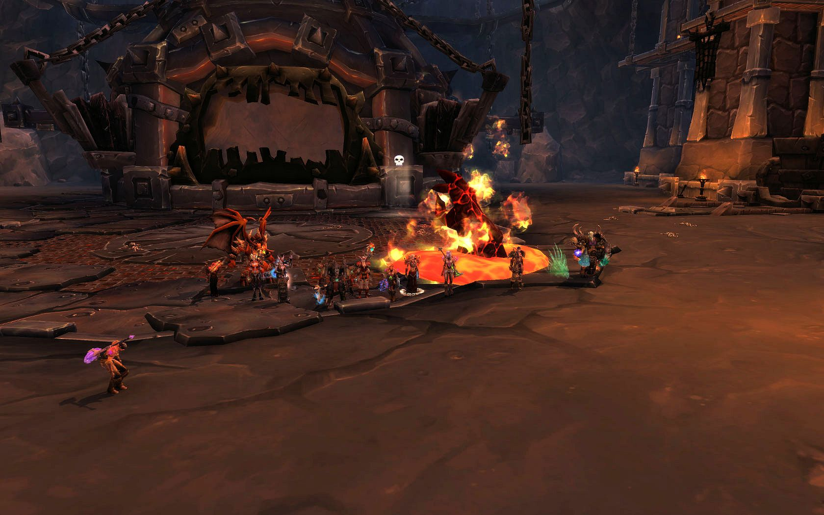 Team Ice told The Blast Furnace to get cold!