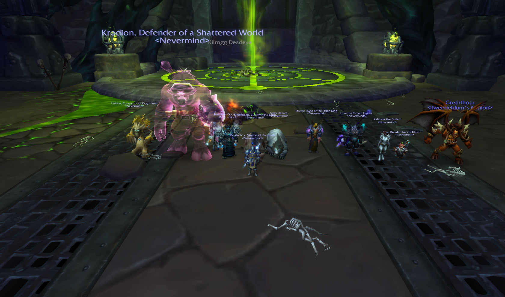 Kilrogg is Dead Aye! Team Fire make it 5!