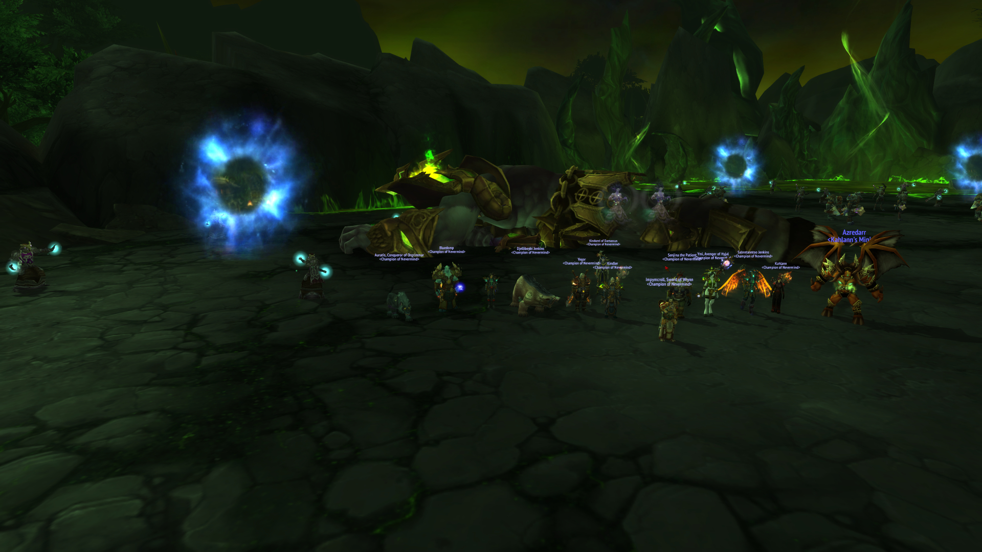 Ice gets a well deserved Archimonde kill!