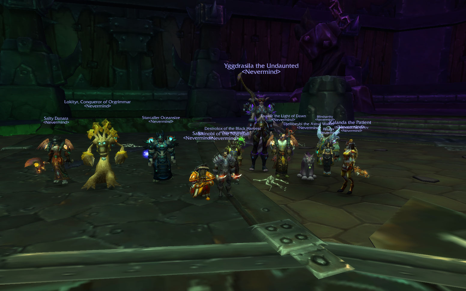 After much torment, Xhul'horac finally fell to the power of Team Fire! 11/13