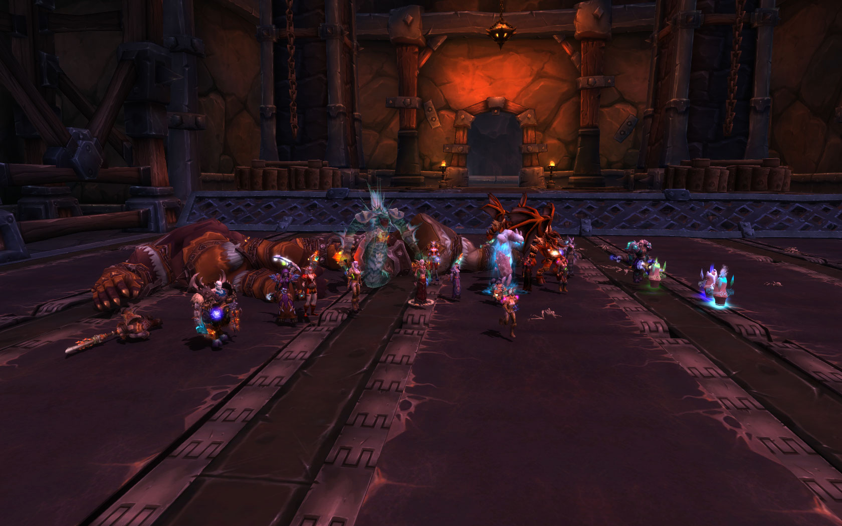 Team Ice first Heroic Kill !! Hans'gar and Franzok out of our way……